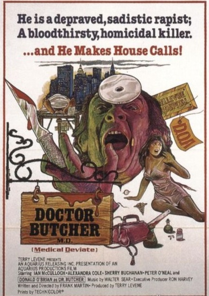 Dr. Butcher MD (aka Zombi Holocaust) In Toronto!