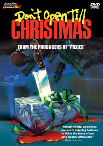 DON'T OPEN TILL CHRISTMAS DVD Review