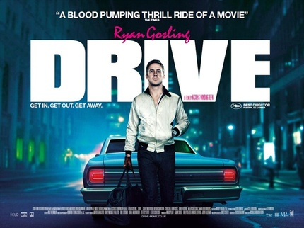 UK Quad Poster For Refn's DRIVE