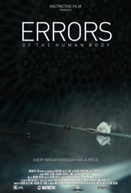 Gripping First Teaser For Eron Sheean's Scientific Thriller ERRORS OF THE HUMAN BODY