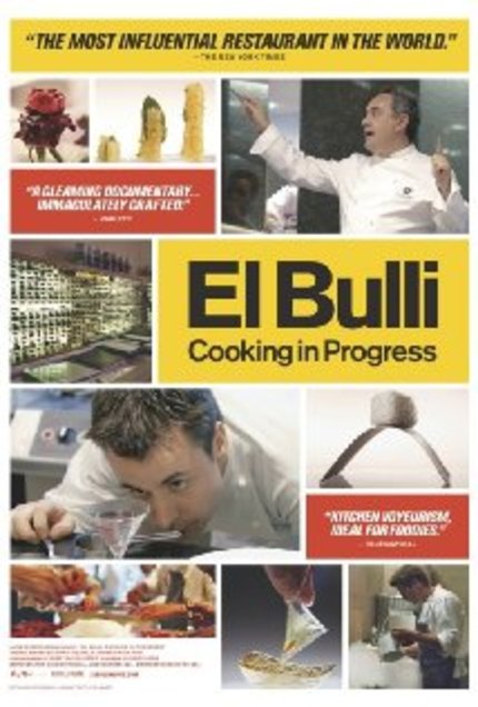 Review: EL BULLI: COOKING IN PROGRESS