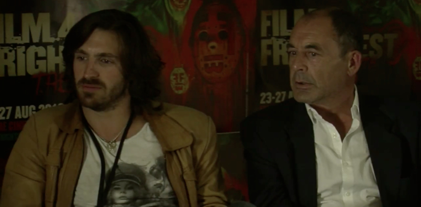 FrightFest 2012 Interview: [VIDEO] Eoin Macken & Brian Fortune On THE INSIDE