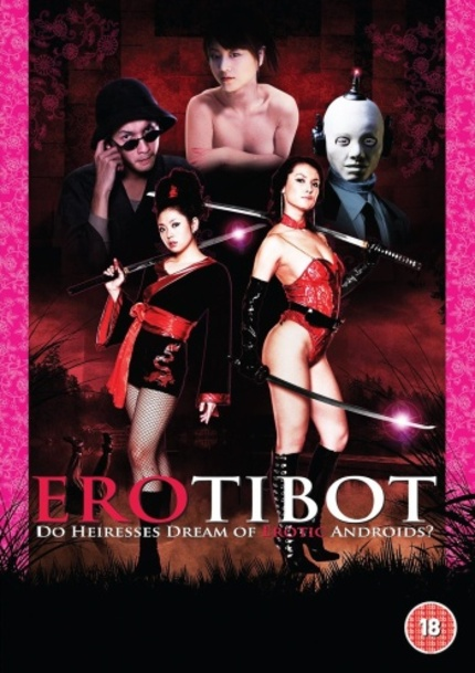 DVD Review: EROTIBOT Starring (Or At Least Getting Naked) Maria Ozawa