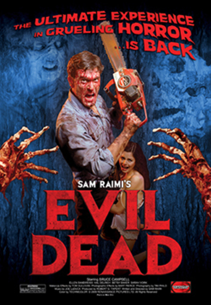 Midnight showings of THE EVIL DEAD are coming! Join us!