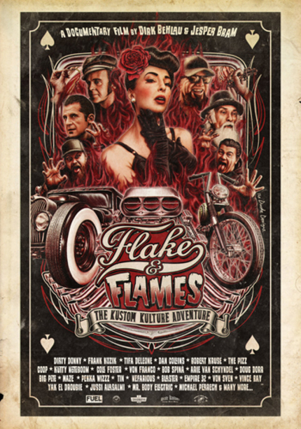 Crowd Funding Alert! Kustom Kulture Doc FLAKE & FLAMES Needs One Last Push!