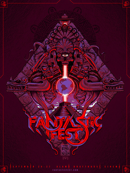 Official Fantastic Fest 2012 Poster Declares The End Is Nigh!