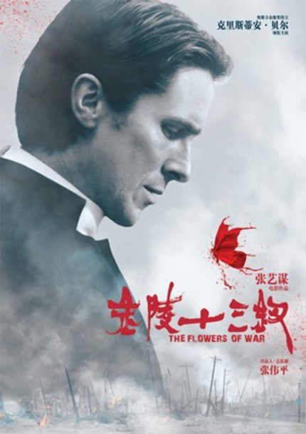 US Trailer For Zhang Yimou's THE FLOWERS OF WAR With Christian Bale