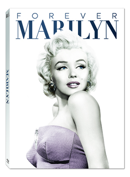 Blu-ray Review: The FOREVER MARILYN COLLECTION Honors and Lays Bare the Starlet