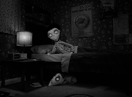 A Trio Of Stills From Tim Burton's FRANKENWEENIE