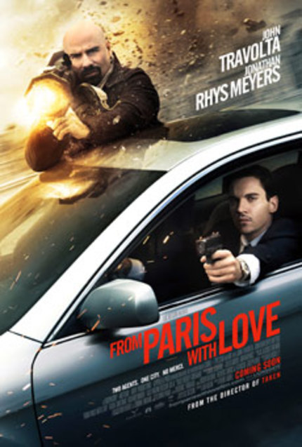 French Trailer for FROM PARIS WITH LOVE is NSFW, yet Funny as Hell!