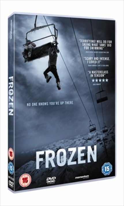 FROZEN UK DVD and Blu-ray