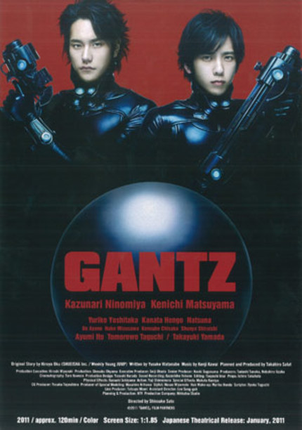 First Footage for Live Action GANTZ