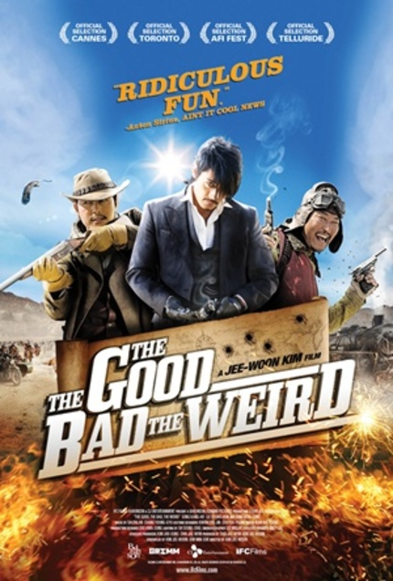At Long Last, A US Trailer And Release Date For Kim Jee-woon's THE GOOD, THE BAD AND THE WEIRD