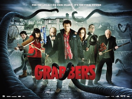 Pour Yourself A Drink And Catch Yourself A Sea Monster. First GRABBERS Trailer Arrives!