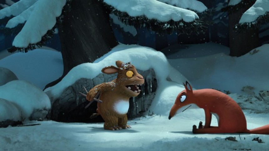 First Image From BBC Christmas Special THE GRUFFALO'S CHILD