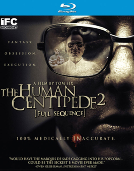Blu-ray Review: THE HUMAN CENTIPEDE 2 [FULL SEQUENCE]