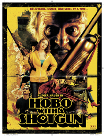 AFM2010: Poster for Jason Eisener's 'Hobo With A Shotgun'!