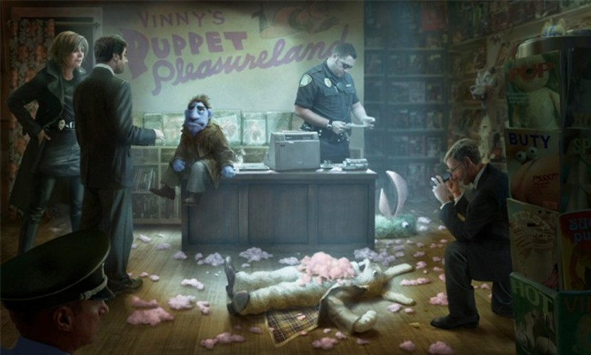 Confirmed: Brian Henson's HAPPYTIME MURDERS Aims For The Hard R!