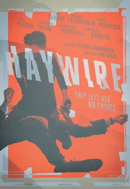 SDCC 2011: Official Poster And Stills From Soderbergh's HAYWIRE