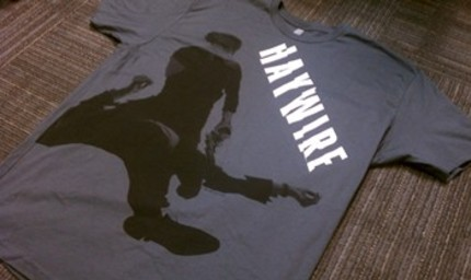 Win A Steven Soderbergh HAYWIRE Prize Pack, Including T Shirt, Bracelet And DVDs!