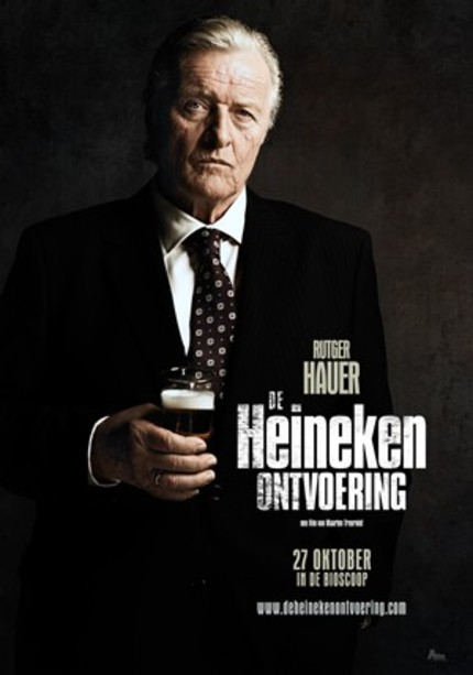 Rutger Hauer Plays The Lead In THE HEINEKEN KIDNAPPING