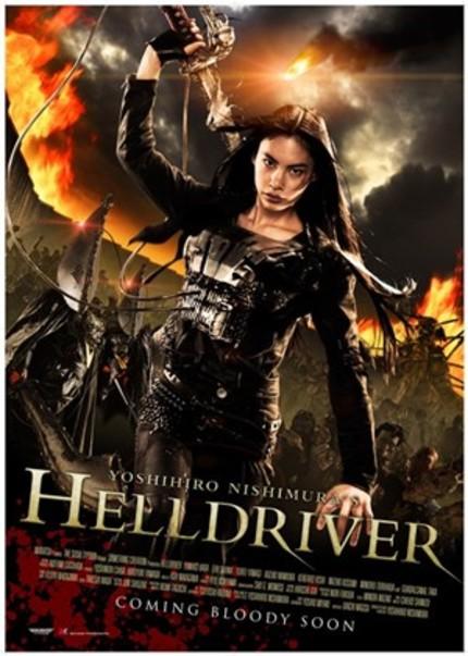 New Trailer For Yoshihiro Nishimura's HELLDRIVER