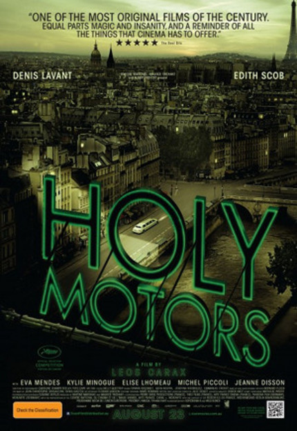 HOLY MOTORS Wins Big At Sitges!