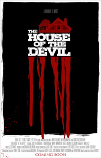 Teaser Poster And Details For Ti West's HOUSE OF THE DEVIL