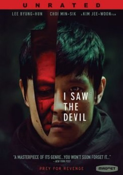 [WINNER!] Now You Can Say I SAW THE DEVIL On DVD With A Giveaway From Magnet Releasing!