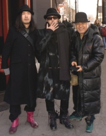 "IFFR 2009: Interview with ""Looking for Cherry Blossoms"" director JO ODAGIRI and two of its stars"