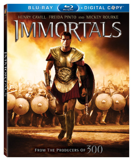 Blu-ray Review: The Low High-Art Ambitions of IMMORTALS