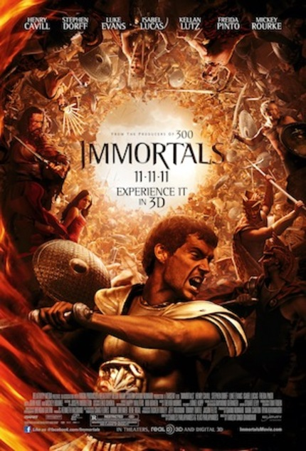 Weinberg Reviews IMMORTALS