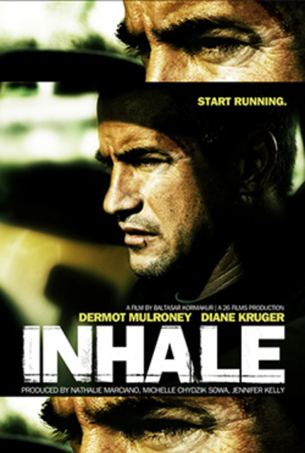Inhale trailer hits the web. Dutch DVD and Blu released.