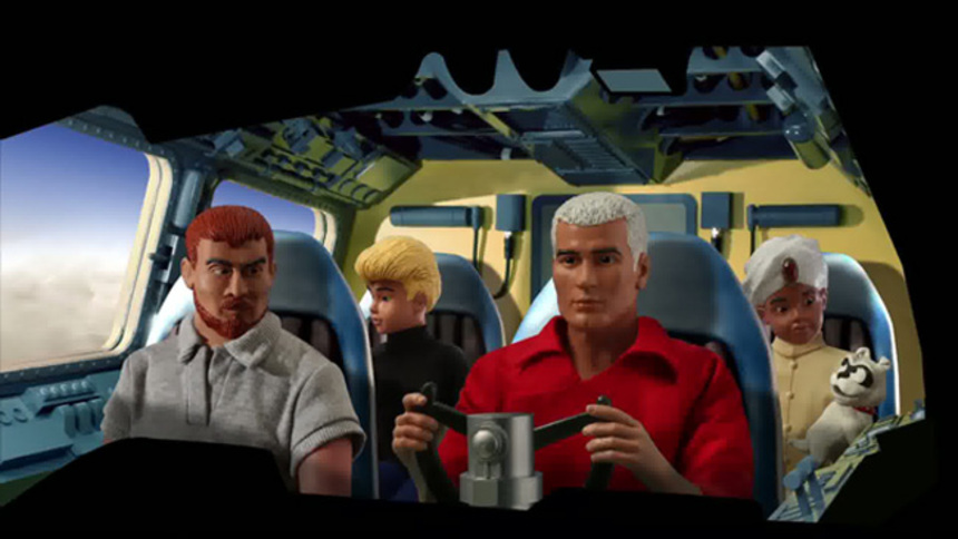 Happy Saturday Morning! JONNY QUEST Stop Motion Goodness