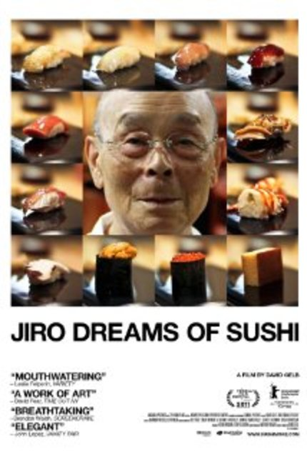 Review:  Tudor dreams of JIRO DREAMS OF SUSHI (but not sushi)