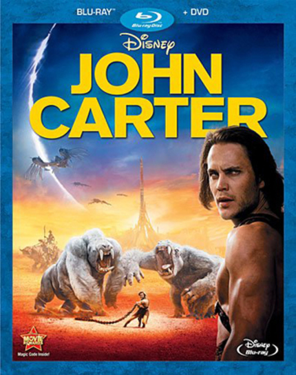 Blu-ray Review: JOHN CARTER Is a Superman of Mars