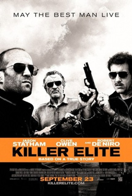 Clive. Jason. Gun. Explosion. Must Be A New KILLER ELITE Clip.