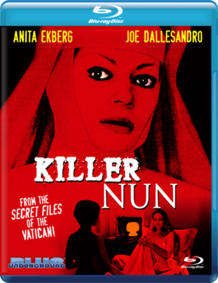 Blu-ray Review: KILLER NUN (Blue Underground)