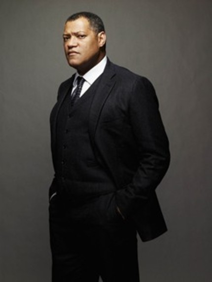 Laurence Fishburne Is Perry White In Zack Snyder's MAN OF STEEL.
