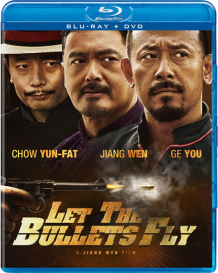 Contest: Win One of Three LET THE BULLETS FLY Blu-rays