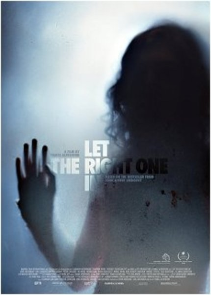 LET THE RIGHT ONE IN up for preorder in the US, on both DVD and BluRay!