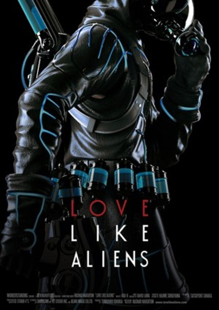 Impressive Trailer For Animated Short LOVE LIKE ALIENS