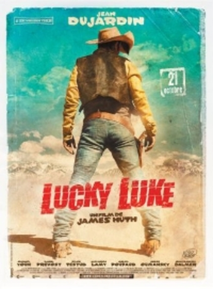 Jean Dujardin Is LUCKY LUKE!