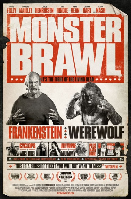 Second Poster For Jesse Cook's MONSTER BRAWL
