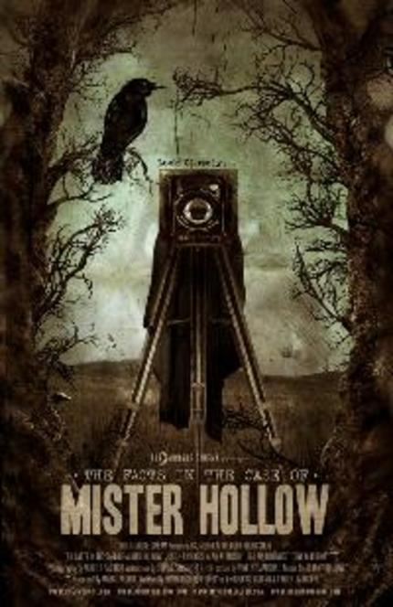 A Poster Arrives For Rodrigo Gudino's Stellar New Short THE FACTS IN THE CASE OF MR HOLLOW!