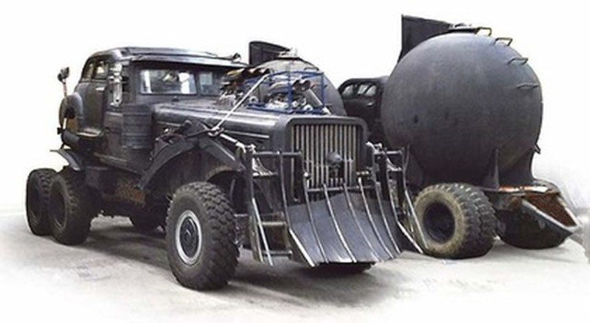 MAD MAX Cars Sighted En Route To Africa
