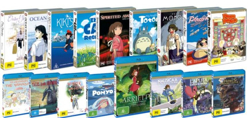 COMPETITION: Win The Complete Madman Studio Ghibli Blu-ray/DVD Collection or an ARRIETTY Blu-ray/DVD (Australia Only)!