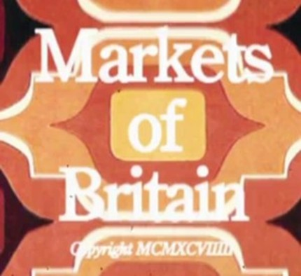 Robert Popper And Peter Serafinowicz Visit MARKETS OF BRITAIN