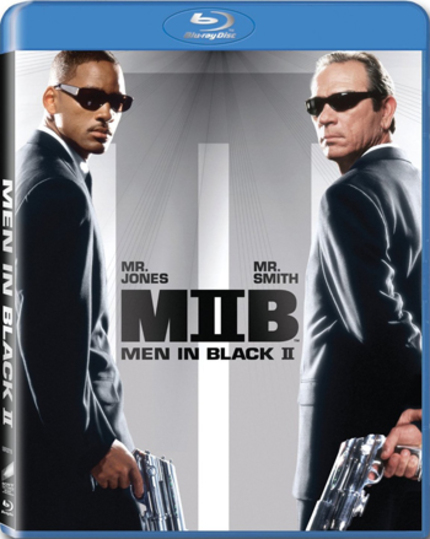 Blu-ray Review: MEN IN BLACK & MEN IN BLACK II