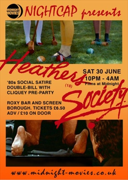 Londoners! Catch a HEATHERS and SOCIETY Double Bill!
